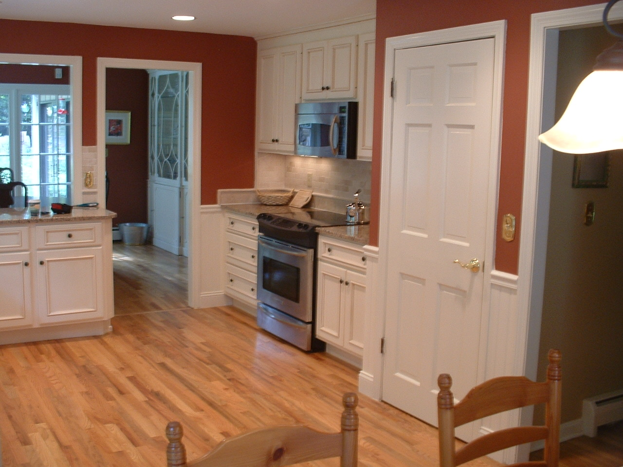 Canton Kitchen with Tumbled Marble Back Splash