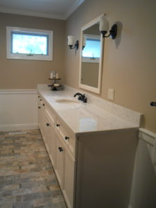 Quartz Countertop for Bathroom Remodel