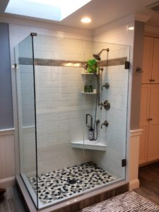 Harwinton Bathroom Remodel Shower